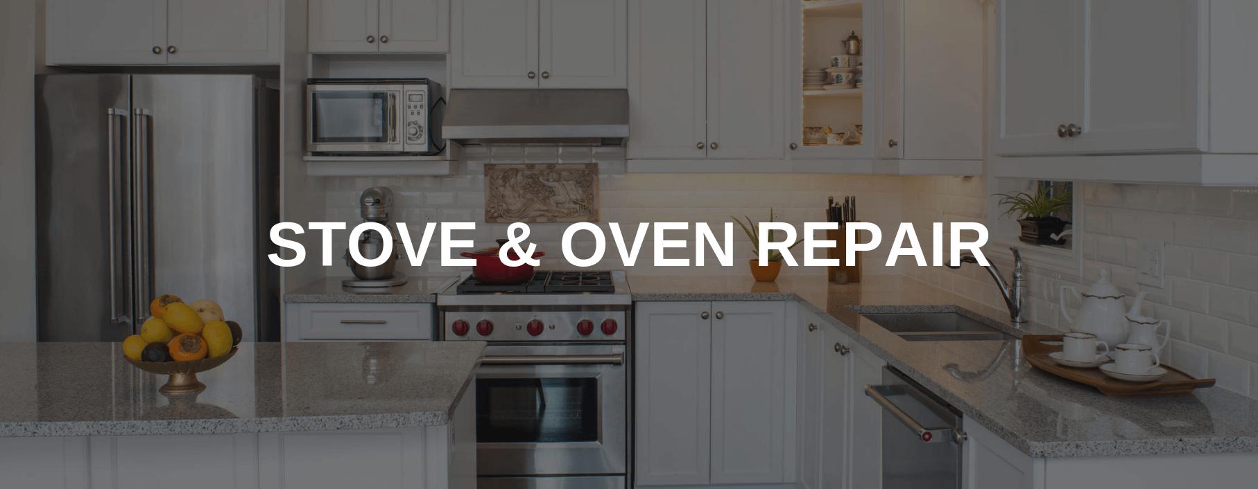 stove repair concord